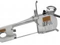 EFA SB 295E Splitting saw, electrically powered